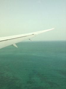 Arriving in Doha