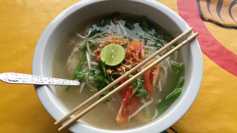 The best tasting Pho in all of Laos.