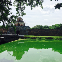 The bridge that separates the Ancient Town from the rest of Hue