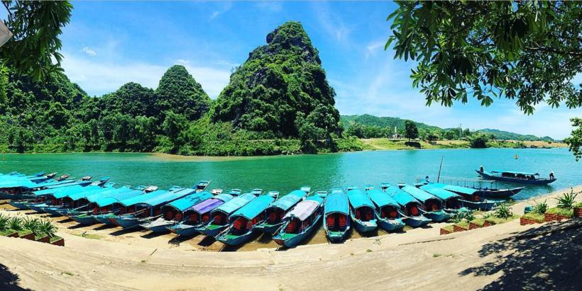 Phong Nha water