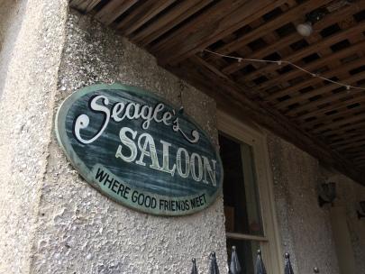 """Where good friends meet"" - Seagle's Saloon, Cumberland Island"