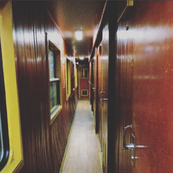 An old fashioned feel to this 8 hour sleeper train