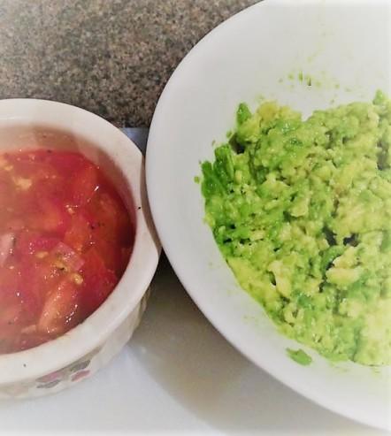 Smashed Avocado & Sala