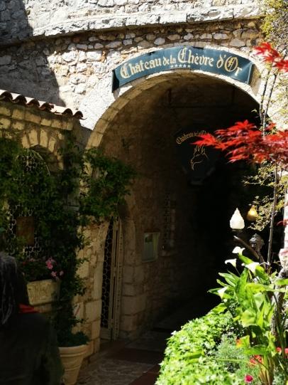 Chateu de la Chevre d'Or, 2 MICHELIN star restaurant, Eze