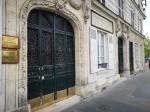 Beautiful doors of Paris