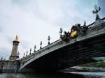 Pont Alexandre III, a deck arch bridge across the Seine