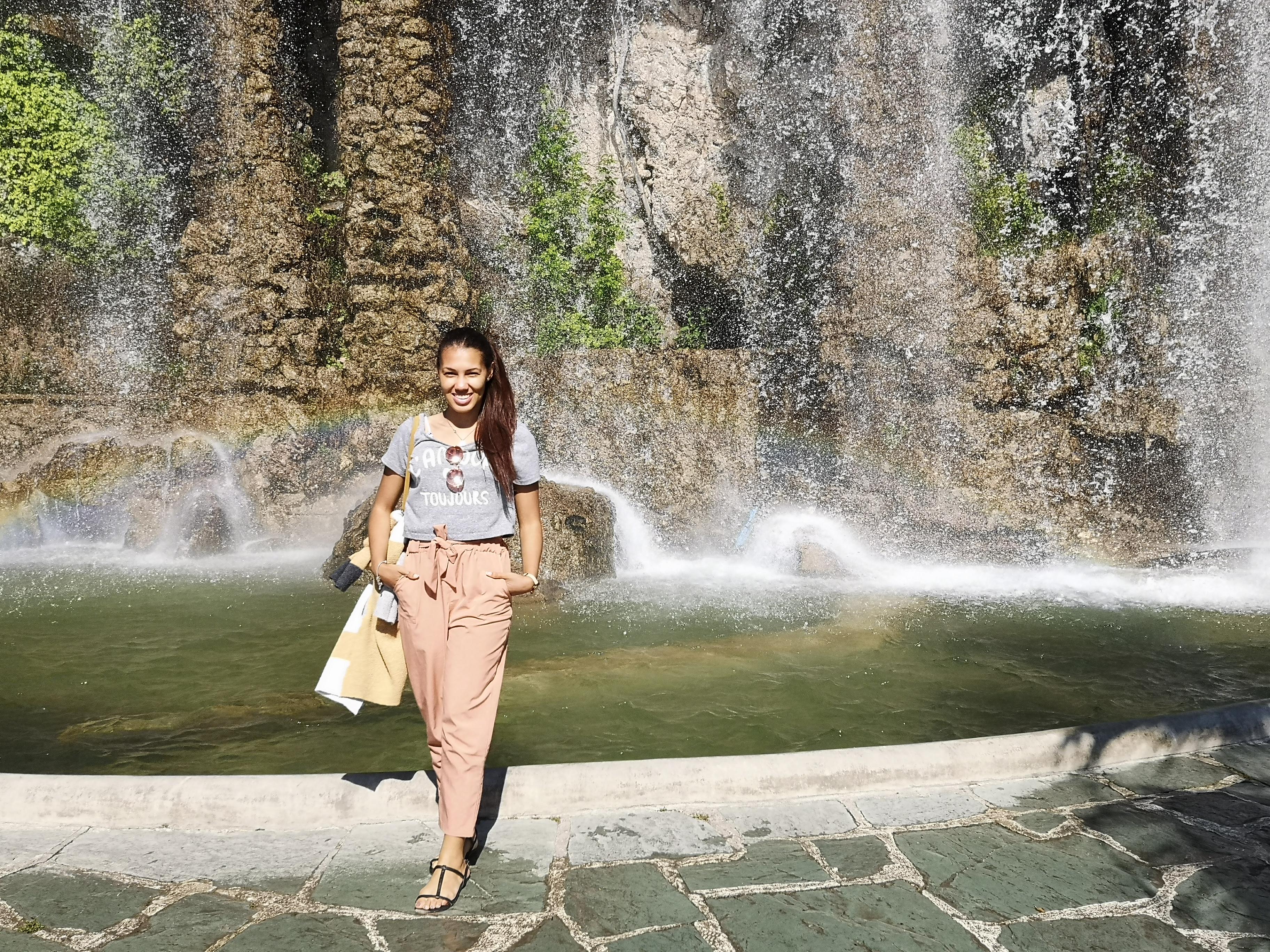 Waterfall, Chateau, Nice